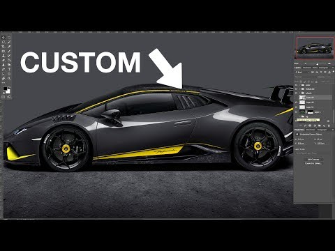 1 OF 1 HURACAN PERFORMANTE! Speed Art by Monaco Auto Design
