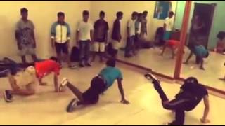 Freak N Stylz Crew Random Practice Session Candid Clip  By R-Life