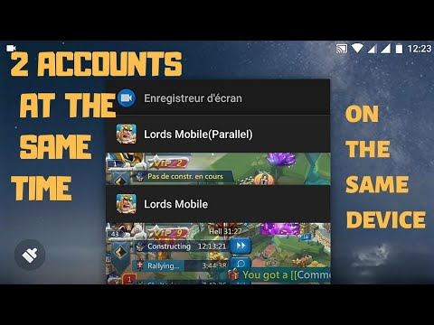 Lords Mobile - How To Play On 2 Accounts At The Same Time