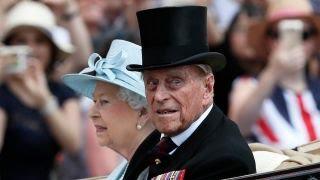 Britain's Prince Phillip hospitalize