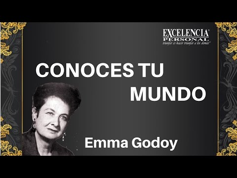 Conoces Tu Mundo Que Mis Palabras Te Acompanen Con Emma Godoy Youtube