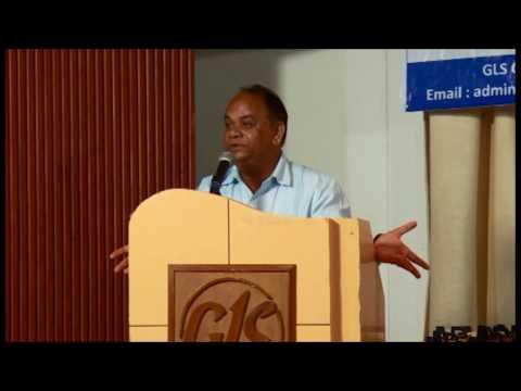 Varun Arya's address at GLS University, Ahmedabad