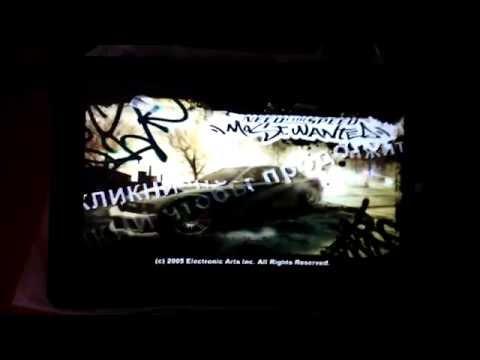 Запуск Need for Speed Most Wanted 2005 на Windows планшете Onda V891W