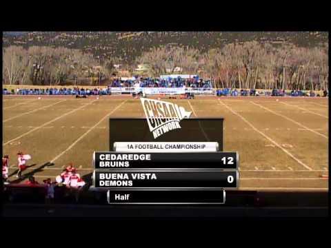 2012 CHSAA Class 1A Football State Championship - Buena Vista vs Cedaredge