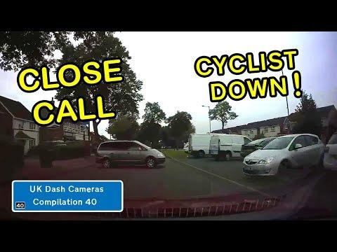 UK Dash Cameras - Compilation 40 - Bad Drivers, Crashes + Close Calls