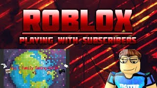 Roblox Saturday! | Live Stream #43 | Roblox | Happy New Years!