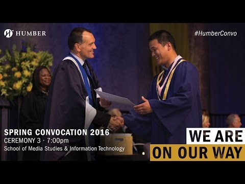 Humber Spring Convocation 2016 - School of Media Studies and Information Technology