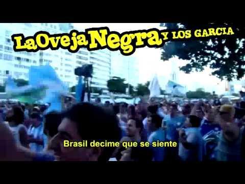 ♫ Brasil decime que se siente ★ La Oveja Negra y los García ★ ( Cumbia oficial del mundial)