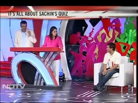 NDTV Quiz with Sachin Tendulkar