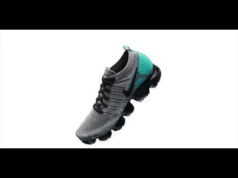 Nike Air VaporMax Flyknit 2 Dusty Cactus: On Foot Shots