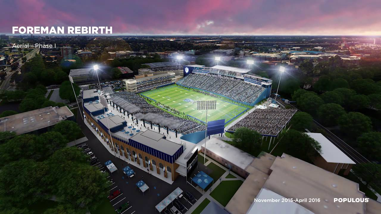 ODU Football: Foreman Field Rebirth: SM02: Quality Over Quantity - YouTube