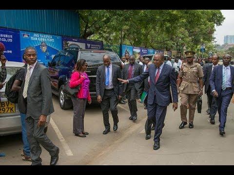 Uhuru Kenyatta plans for the economy ahead of swearing-in