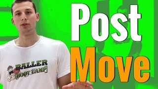 Basketball moves for post up players | be the next hakeem olajuwon