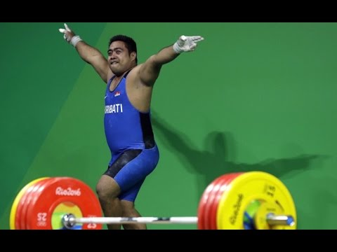 Olympic Weightlifter Dances To Save Sinking Island Nation
