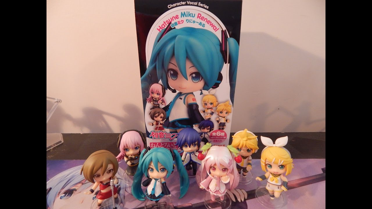 Vocaloid 3/'/' Luka Hatsune Miku Renewal Nendoroid Petite Trading Figure