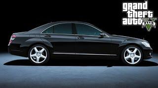 GTA 5 MOD: Mercedes-Benz S-Class W221
