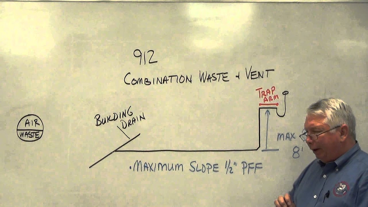 Vent System Combination Waste And Vent 3 Youtube