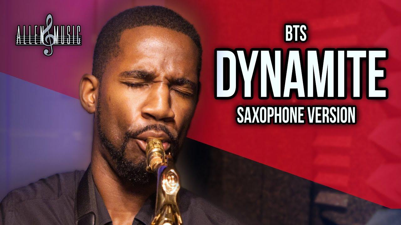 BTS (방탄소년단) - Dynamite - Saxophone Cover