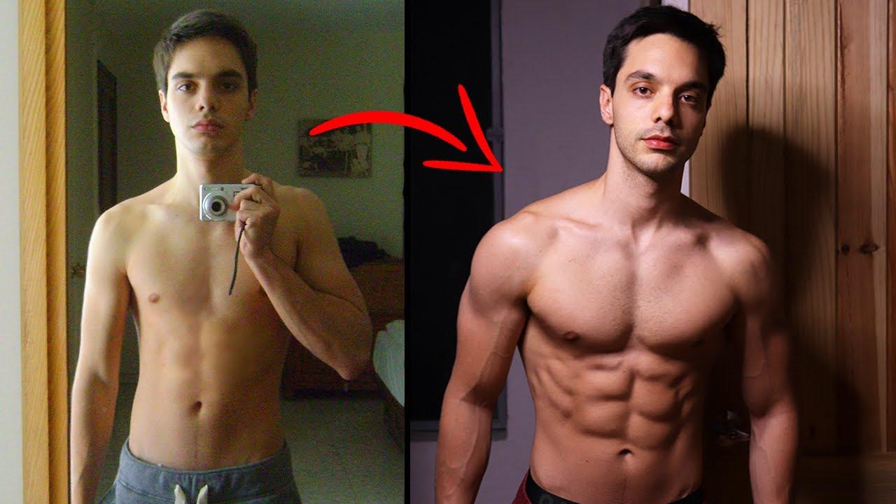 Mi Transformación Física 100% Natural!