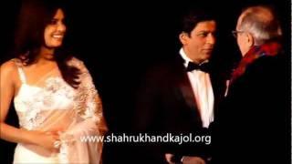 Shahrukh Khan and Priyanka Chopra at the Berlinale 2012