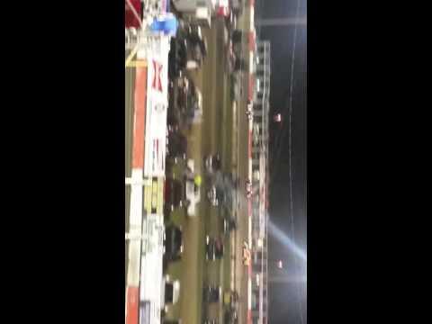 Taylor Metz, Greg Metz and Shaun Vanlangham...Championship Night. Beatrice Speedway