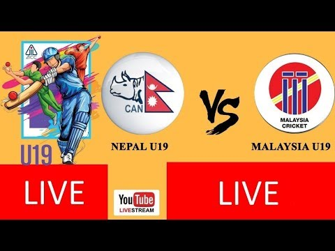 LIVE: ICC Asia Under-19s World Cup Qualifier at Kuala Lumpur