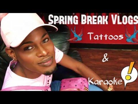 Spring Break Vlog 2 || Getting Tatted and Karaoke
