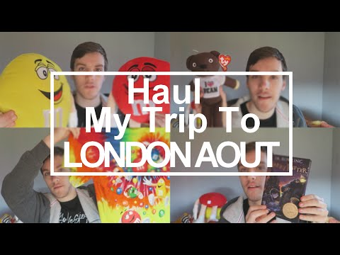 Haul - My Trip To London Août - M&M's World - Harry Potter Studio ...
