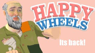 Happy Wheels!!!!! Hold On Sweetie!