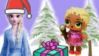 Kalendarze adwentowe #22  LOL Surprise OMG SWAG • Frozen 2 • Elsa  bajka po polsku