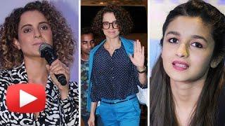 Angry Kangana Ranaut SWEET Reply To Alia Bhatt's Comment On Koffee With Karan 5