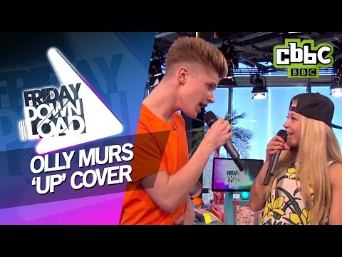 Olly Murs ft Demi Lovato 'Up' cover with lyrics on CBBC Friday Download