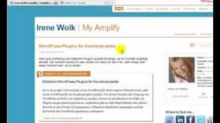 Wie funktioniert Amplify - Video 1 von 2