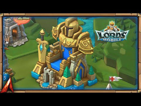 Grand Throne Castle Skin Is Here! Lords Mobile