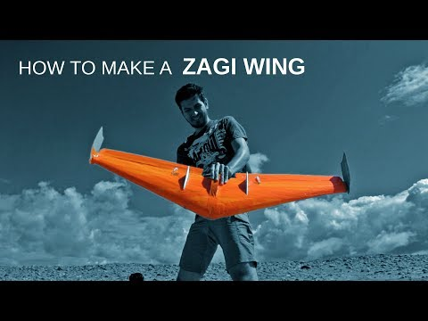 How To Make An RC Flying Wing