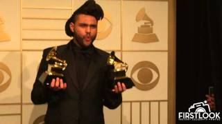 Abel Tesfaye aka Weeknd WINNER of BEST R&B PERFORMANCE Grammy Awards 2016