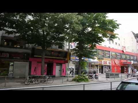 D: Hamburg. Fahrt mit der Buslinie 111. Juni 2014