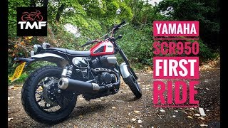 2018 Yamaha SCR950 Review