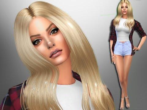 [The Sims 4] Celebrety CAS Review #16 - Alexandra Stan