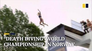 Norway's 'death diving' championship