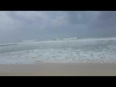 04-10-2016, time 09.40, Hurricane Matthew, Dominican Republic Punta Cana, Bayahibe