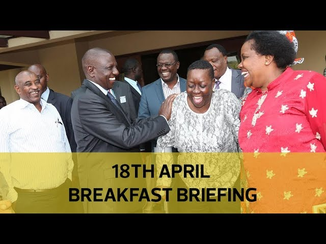 Ruto's 2022 strategy, Slum's extra-judicial killings, City's water shortage: Your Breakfast Briefing