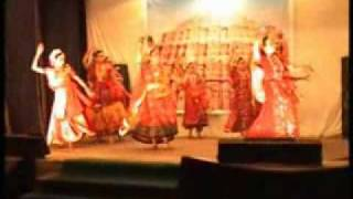 Moumita Bej performing on banna re baga mein