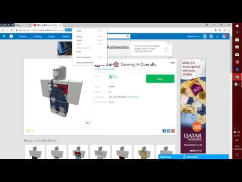 GUIDE~ HOW TO GET CLOTHES ID ON ROBLOX? - YouTube