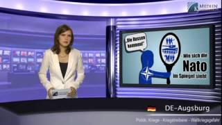 """Die Russen kommen!""""- Wie sich die Nato im Spiegel sieht"""