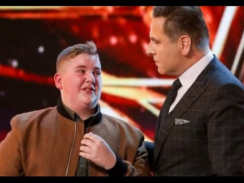 David Williams Gets SHAMED Into Hitting the Golden Buzzer!  Auditions 6  Britain's Got Talent 2017