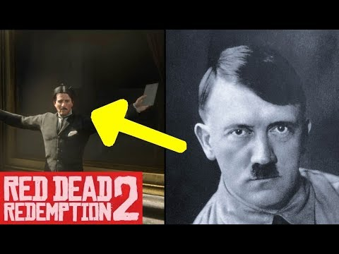 Young Hitler in Red Dead Redemption 2 (RDR2) - Easter Egg thumbnail