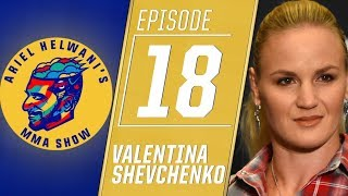 Valentina Shevchenko on training with Cris Cyborg for her title fight | Ariel Helwani's MMA Show