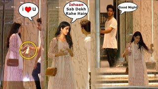Video Sridevi's Daughter Jhanvi Kapoor & Boyfriend Ishaan Khattar ROMANCES in PUBLIC download MP3, 3GP, MP4, WEBM, AVI, FLV April 2018