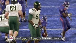 NCAA Football 11 PS3 #4 Oregon Ducks vs #5 Boise State Broncos